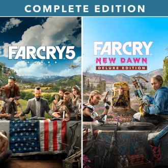 Far Cry® 5 + Far Cry® New Dawn Complete Edition PS4