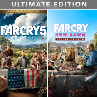 Far Cry® 5 + Far Cry® New Dawn Ultimate Edition PS4