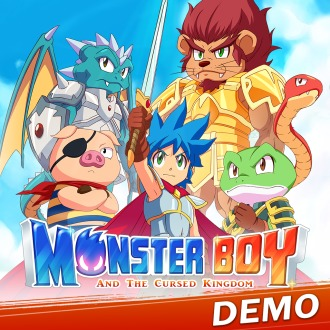 Monster Boy and the Cursed Kingdom Demo PS4