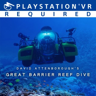 David Attenborough's Great Barrier Reef Dive PS4