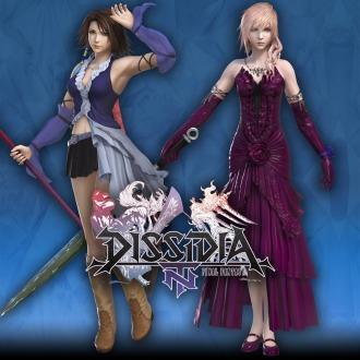 Atuendos alternativos de Yuna y Lightning PS4