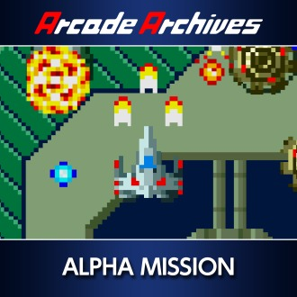 Arcade Archives ALPHA MISSION PS4