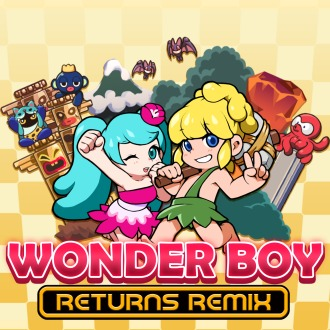 WonderBoyReturnsRemix PS4