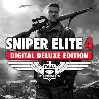 Sniper Elite 4 Digital Deluxe Edition PS4