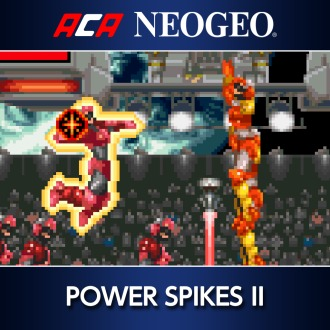 ACA NEOGEO POWER SPIKES II PS4