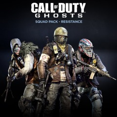 Call Of Duty Ghosts Squad Pack Resistance On Ps4 Official Playstation Store Australia