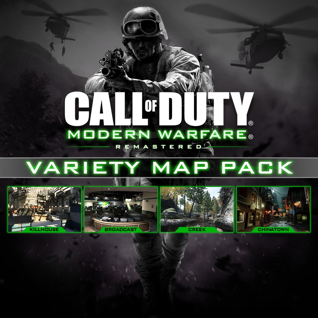 CALL OF DUTY®: MWR VARIETY MAP PACK (EFIGSP)