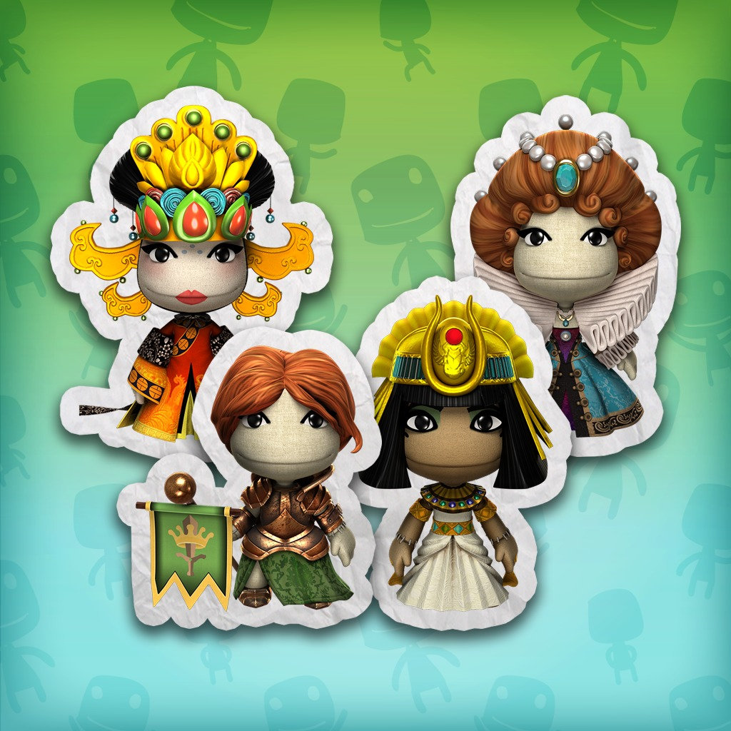 LBP™ 3 Women in History Costume Pack