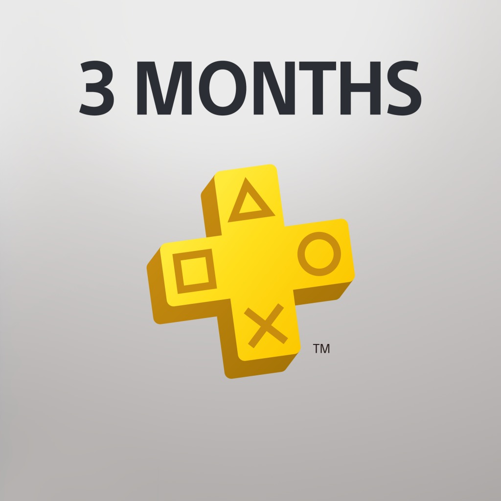 PlayStation® Plus: 3 Month Membership