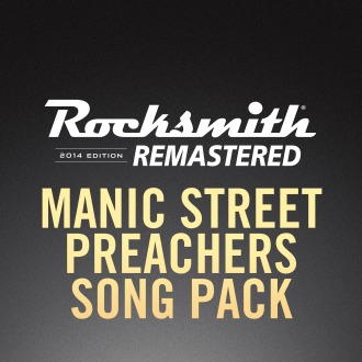 Rocksmith® 2014 – Manic Street Preachers Song Pack PS4 / PS3