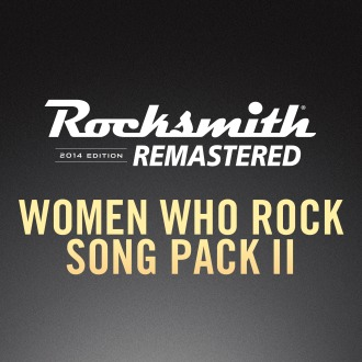Rocksmith® 2014 – Women Who Rock Song Pack II PS4 / PS3