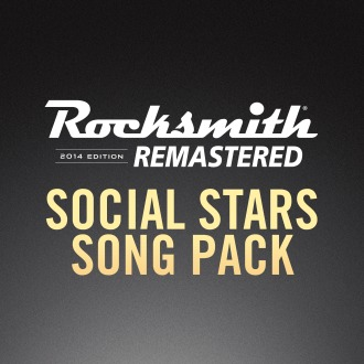 Rocksmith® 2014 – Social Stars Song Pack PS4 / PS3
