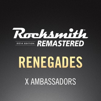 Rocksmith® 2014 – Renegades - X Ambassadors PS4 / PS3