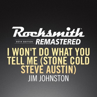 Rocksmith® 2014 – I Won't Do What You Tell Me - Jim Johnston PS4 / PS3