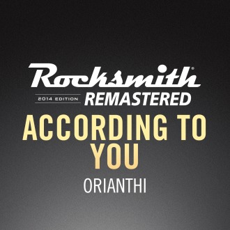 Rocksmith® 2014 – According to You - Orianthi PS4 / PS3