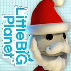Santa Hat and Beard Costume PS4 / PS3 / PS Vita