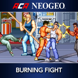 ACA NEOGEO BURNING FIGHT PS4
