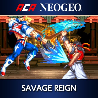ACA NEOGEO SAVAGE REIGN PS4