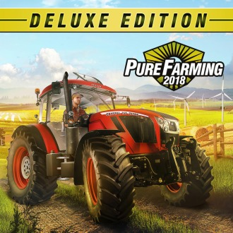 Pure Farming 2018: Digital Deluxe Edition PS4