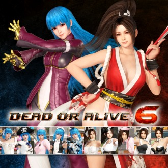 DOA6 THE KING OF FIGHTERS XIV Mashup Content Set PS4