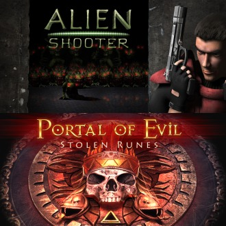 Alien Shooter&Portal of Evil: Stolen Runes PS4