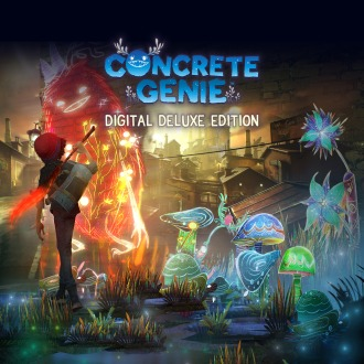 Concrete Genie Digital Deluxe Edition PS4