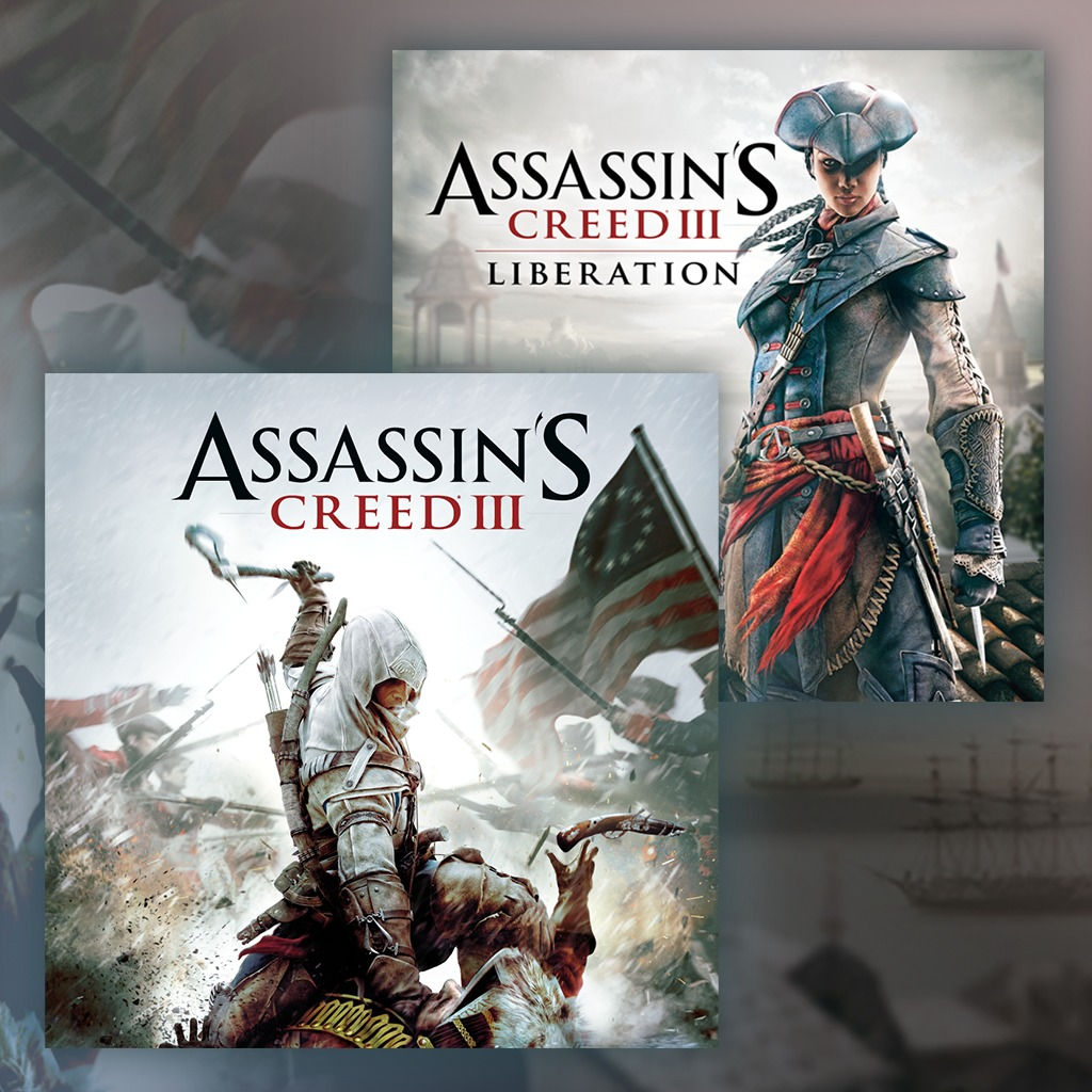 Assassin's Creed® III Gold Edition + ACIII: Liberation