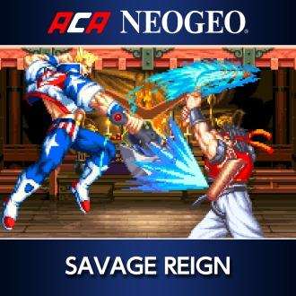ACA NEOGEO SAVAGE REIGN PS4