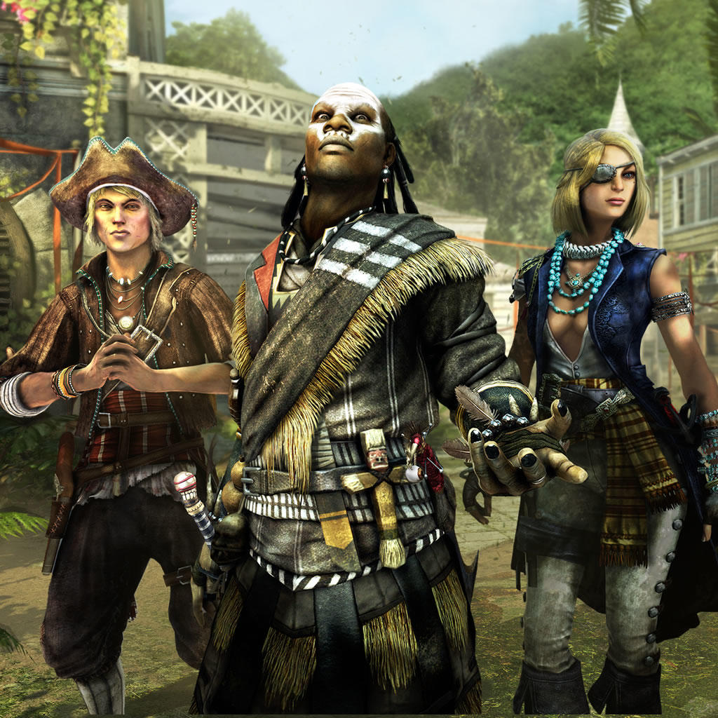 AC4 Multiplayer Characters Pack 2 Guild of Rogues