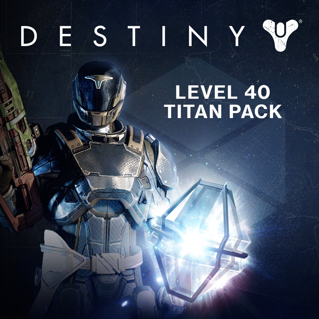 Destiny - Level 40 Titan Pack