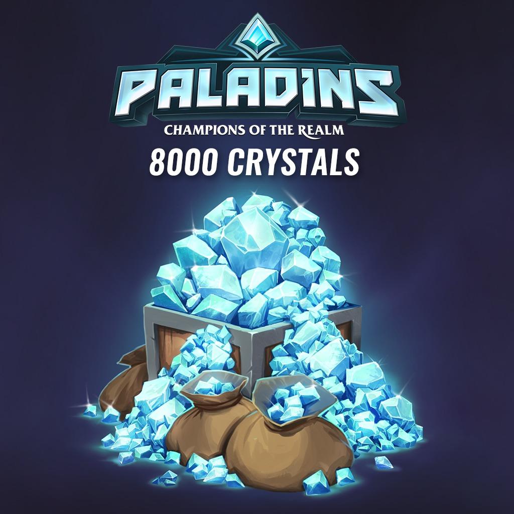 8000 Paladins Crystals