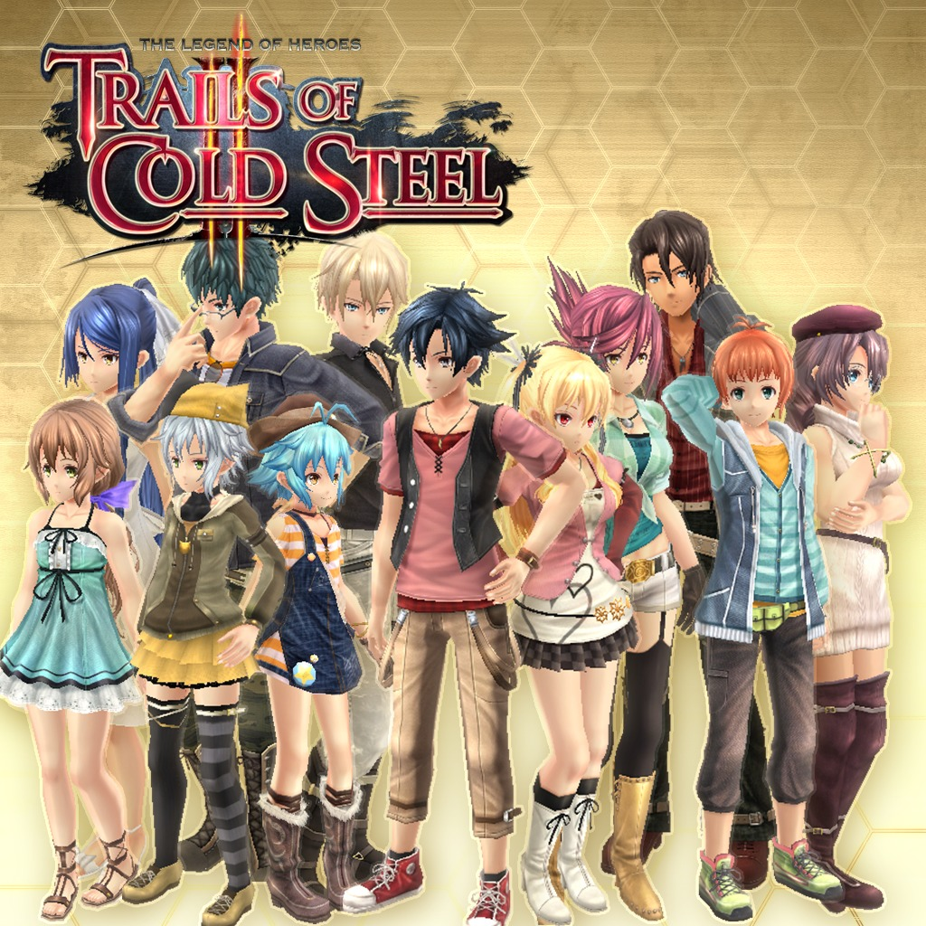 Trails of Cold Steel II — All Casual Clothes