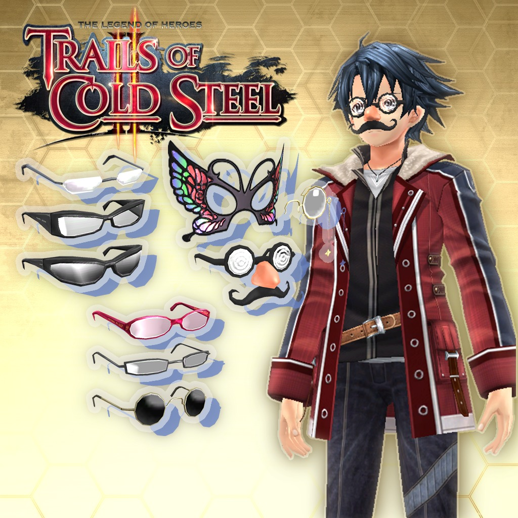 Trails of Cold Steel II — All Glasses Sets