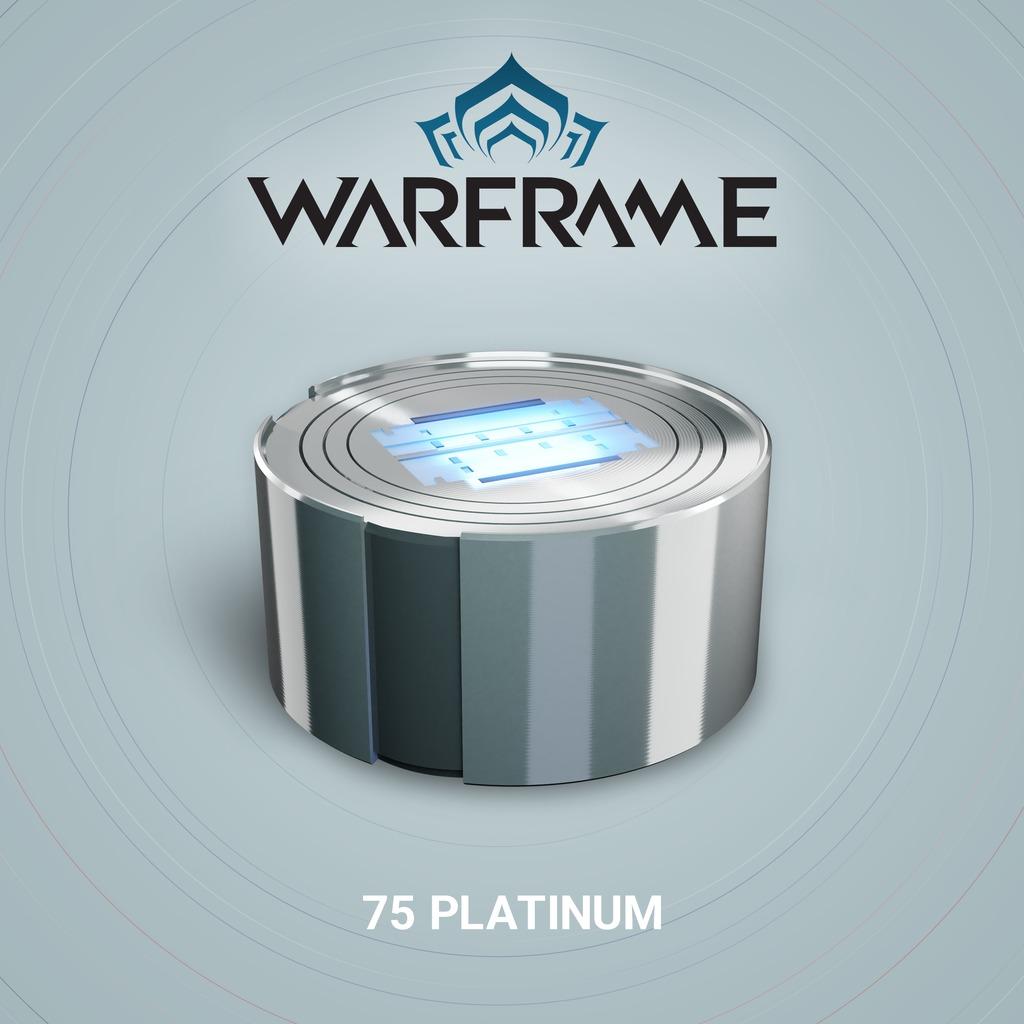 Warframe®: 75 Platinum