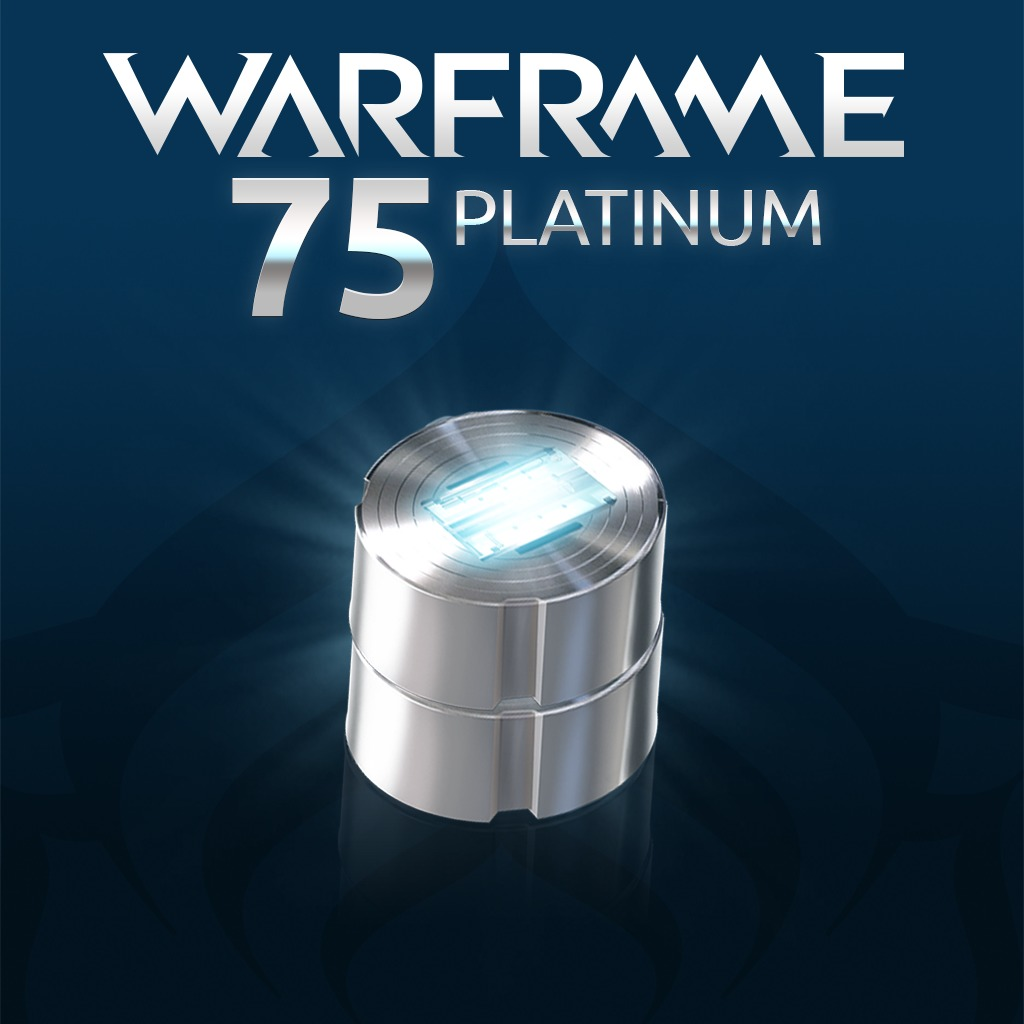 Warframe®: 75 Platinum