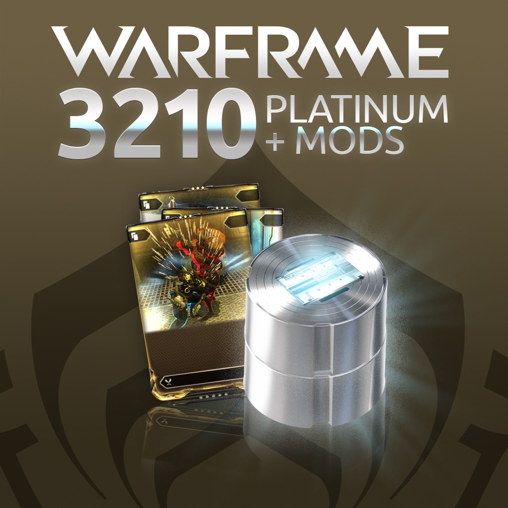Warframe®: 3210 Platinum + Triple Rare Mod