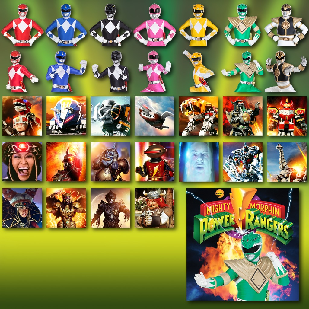 Power Rangers - Ultimate Theme and Avatars Bundle