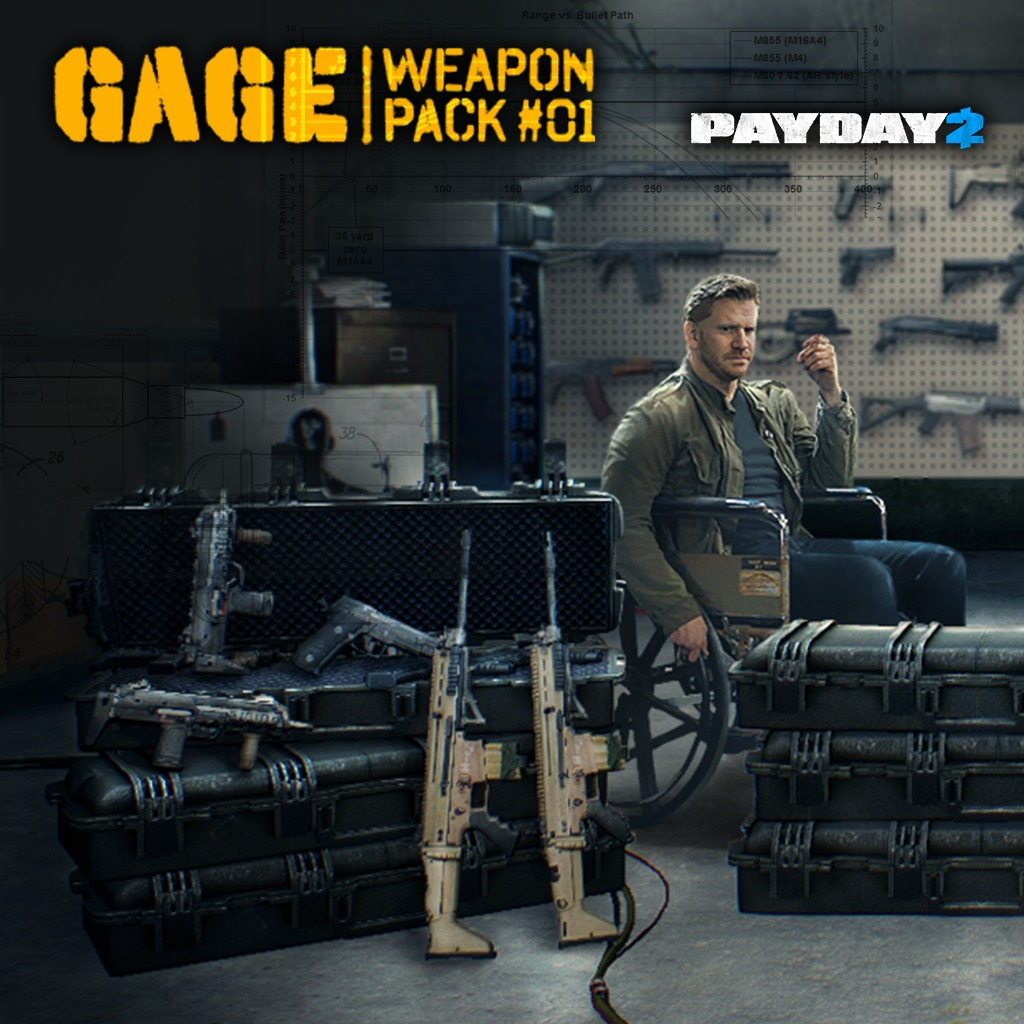 PAYDAY 2 Gage Pack 1