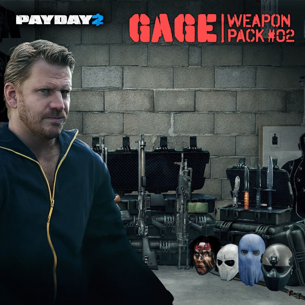 PAYDAY 2 Gage Pack 2