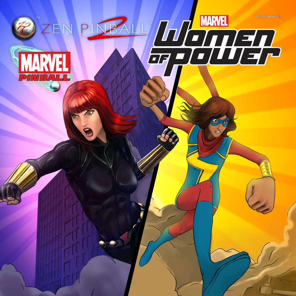 Zen Pinball 2: Marvel's Women of Power