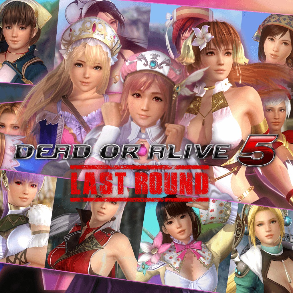 DOA5LR Gust Mashup Costume Set
