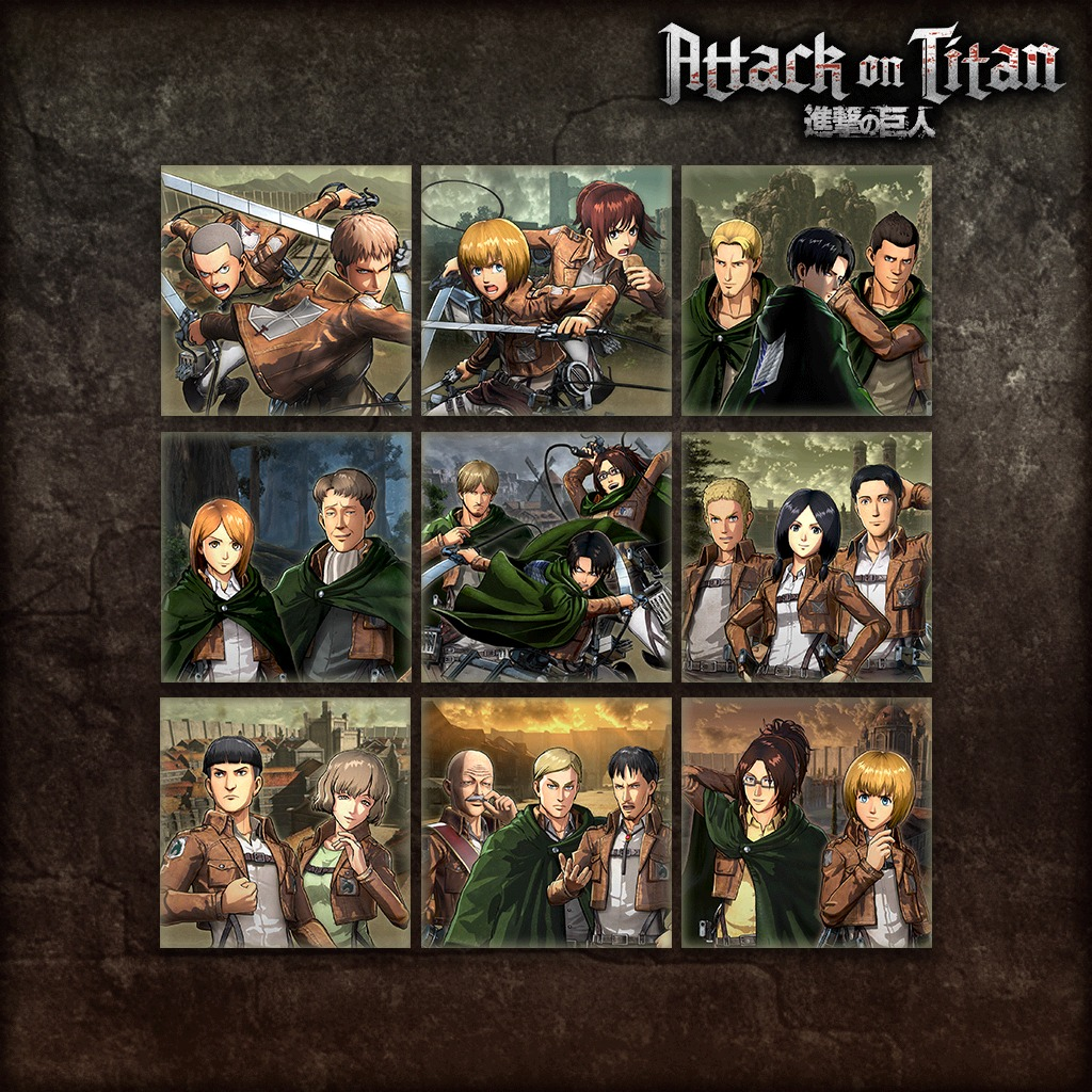 Attack on Titan - Episode All Set