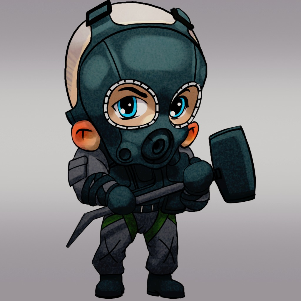 Tom Clancy's Rainbow Six Siege – Sledge (Chibi) sur PS4 ...: https://store.playstation.com/#!/fr-ca/jeux/avatars/tom-clancy's...