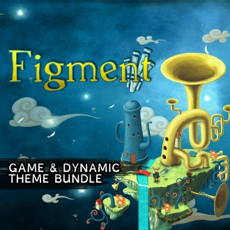 Figment - Game and Dynamic Theme Bundle PS4