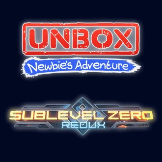 UNBOX: Newbie's Adventure and Sublevel Zero: Redux PS4