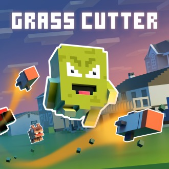 Grass Cutter - Mutated Lawns PS4