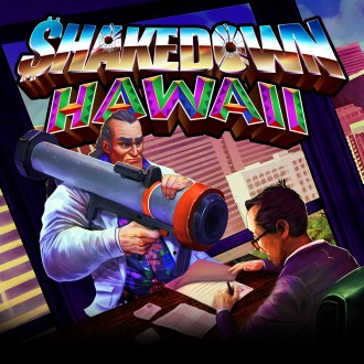Shakedown: Hawaii PS4 / PS Vita