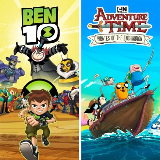 Ben 10 and Adventure Time PS4