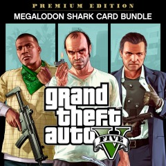 "GTAV Premium Online Edition and CashCard ""Megalodon"