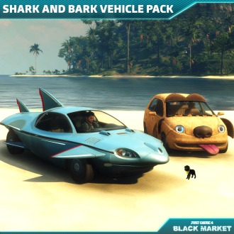 Just Cause 4 - Shark And Bark Vehicle Pack PS4